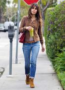 Джордана Брюстер, фото 1243. Jordana Brewster - booty in jeans leaving Lemonade in West Hollywood 02/29/12, foto 1243