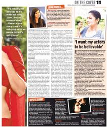 ����� �����, ���� 1666. Sunny Leone Gulf News' Tabloid! Magazine February 27, 2012, foto 1666