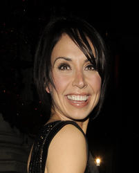 Christine Bleakley Leggy Candids
