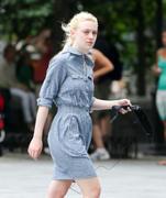 "*ADDS* Dakota Fanning On the Set Of ""Very Good Girls"" in Manhattan 07/19/12- 22 HQ"
